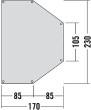 Tatonka Apsidensheet 168x232 telgialus